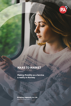 Cover of: MaaS to Market - Making Mobility as a Service a reality in Norway document