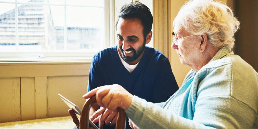 Technology is making a real difference in social care