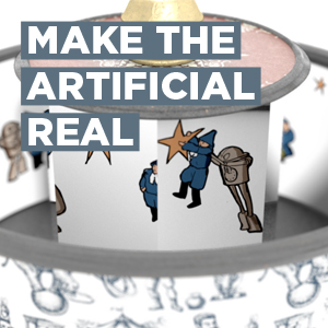 make the artificial real