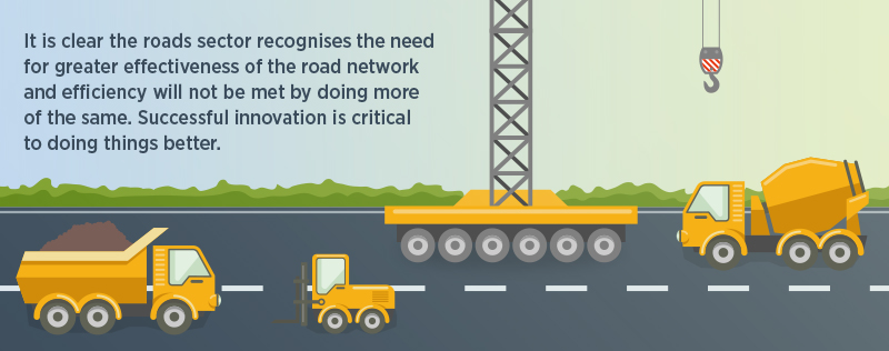 Road Innovation web page key fact graphic 3 the need for successful innovation across the industry