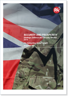 SDSR 2015: Security and prosperity