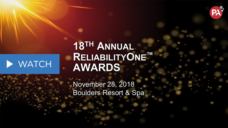 Highlights from PA's 18th Annual ReliabilityOne™ Awards Ceremony